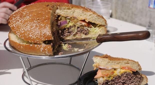 """""""The Strasburger"""" burger"""