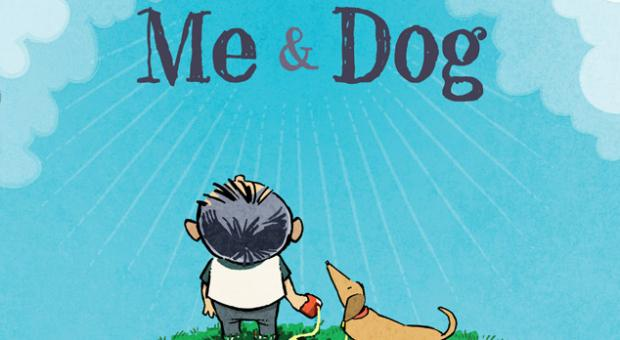 "Gene Weingarten and Eric Shansby collaborated on the new children's book ""Me and Dog,"" which was released Sept. 16."